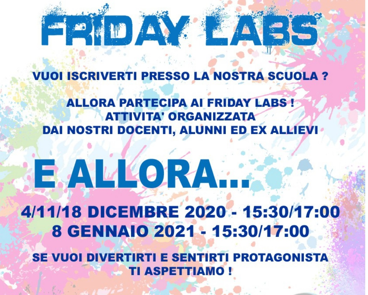 FRIDAY LABS